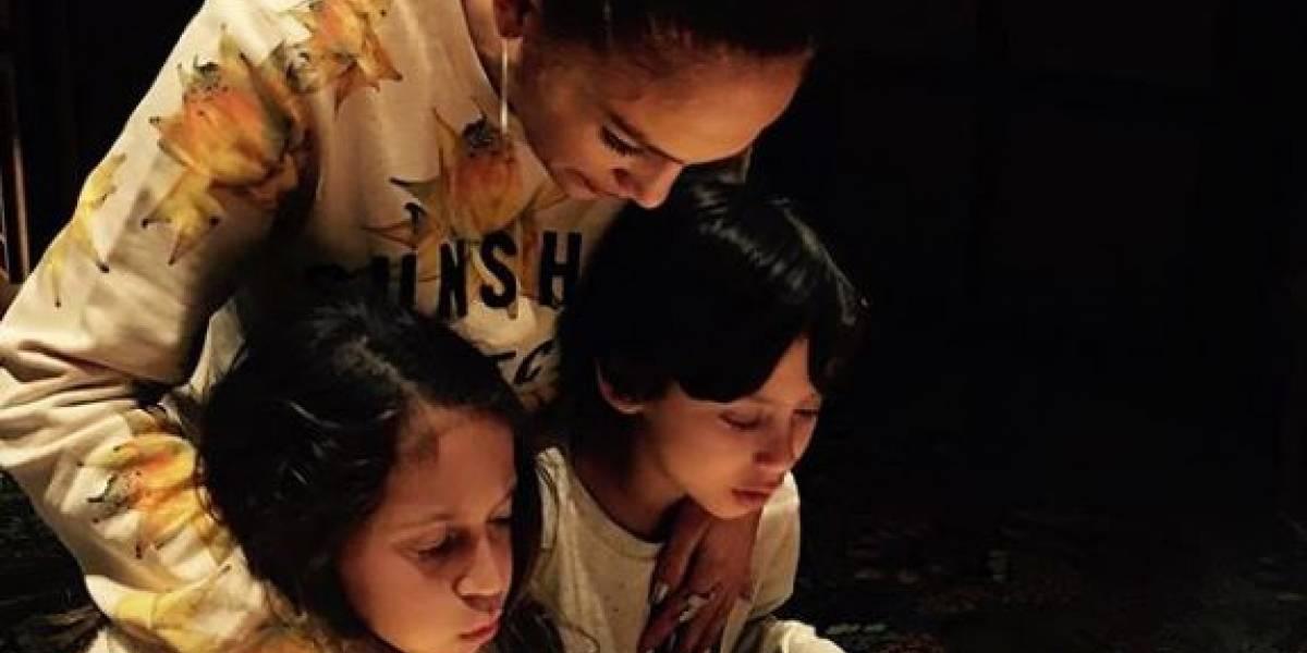 La entrañable relación de Jennifer Lopez con sus hijos demuestra que es una súper mamá