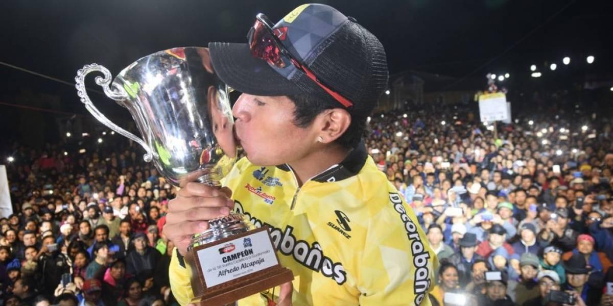 """VIDEO. Ajpacajá reveló uno de los """"secretos"""" que lo ayudaron a ganar la Vuelta"""