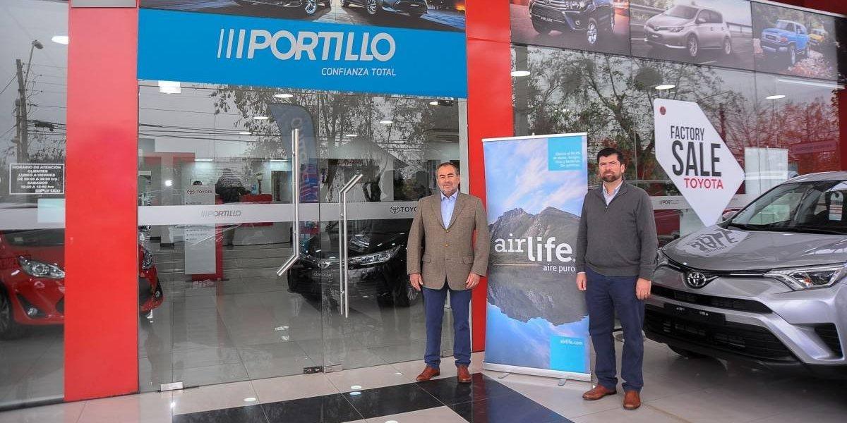 La tecnología de Airlife se une al Grupo Portillo