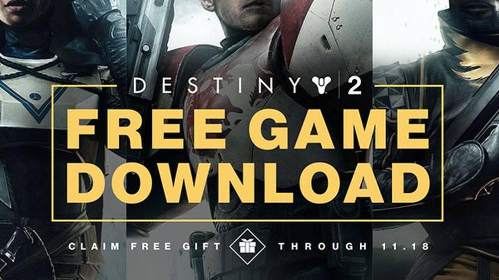 Destiny 2 se puede descargar gratis en PC por tiempo limitado #BlizzCon2018
