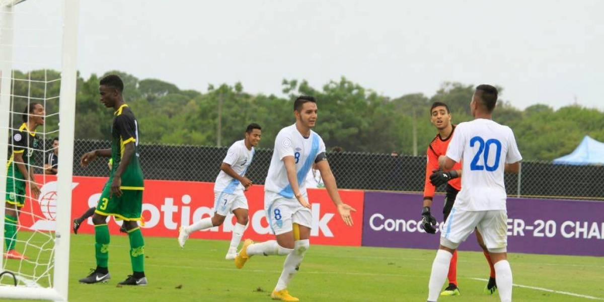 Selección Sub-20 golea a Guyana 4-0 en el Premundial