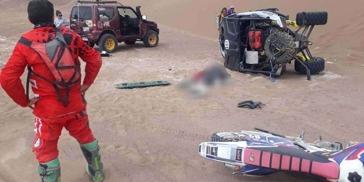 Tragedia en Rally del Desierto: piloto falleció tras accidente y el evento fue suspendido