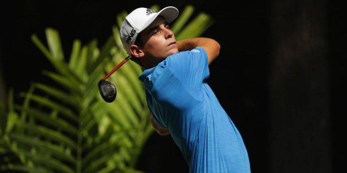 Joaquín Niemann se luce en Las Vegas, asegura el corte y sueña con su primer título en el PGA Tour