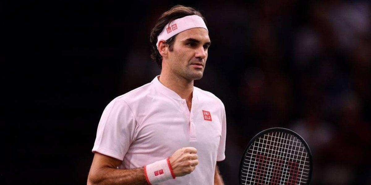 Federer superó a Nishikori y se medirá ante Djokovic en París-Bercy
