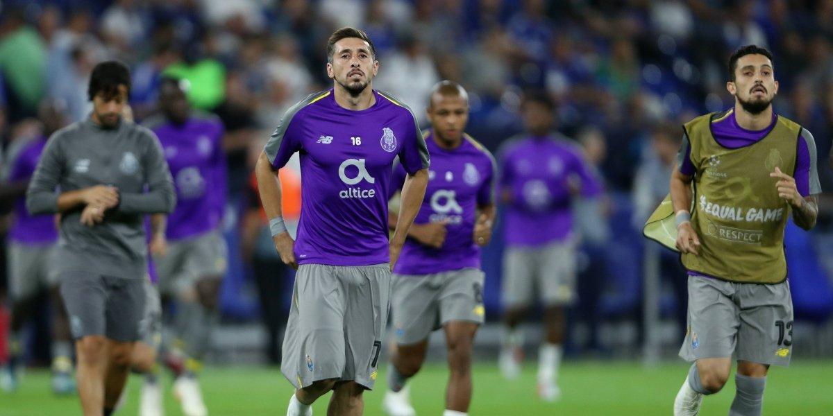 Medios italianos aseguran que Héctor Herrera llegaría a la Roma en enero