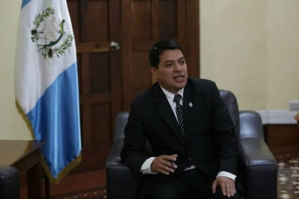 Kamilo Rivera, viceministro de Gobernación