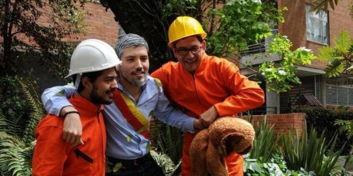 Peñalosa se hizo autobullying con el disfraz del alcalde perdido