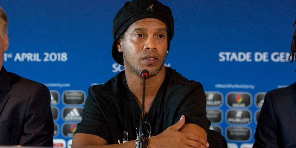 Ronaldinho tendrá que enfrentar a la justicia de su país