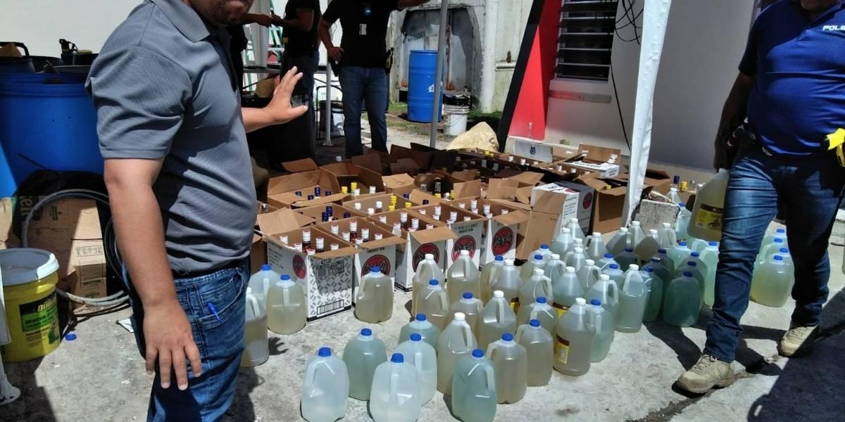 Policía ocupa gran cantidad de pitorro en residencia en Yabucoa
