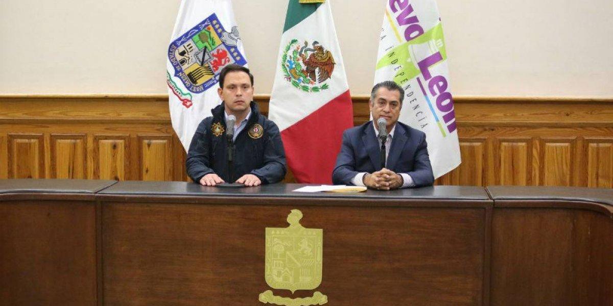 'El Bronco' toma el mando de la seguridad pública en Monterrey