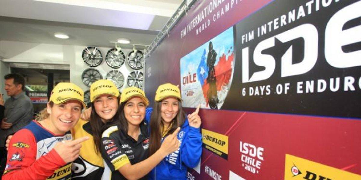 Las cuatro chilenas que darán pelea en el Six Days de Viña