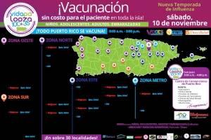 Vacunación masiva Vidapalooza 100 x 35 / Suministrada