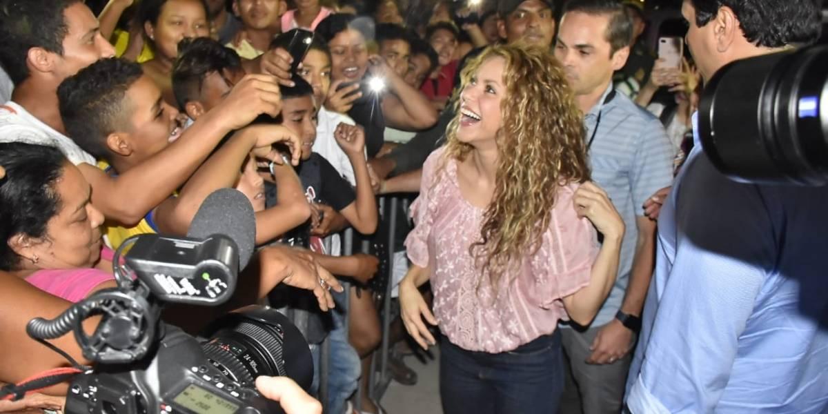 Shakira pide más presupuesto para ayudar a niños venezolanos