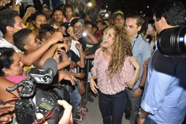 Shakira en Barranquilla