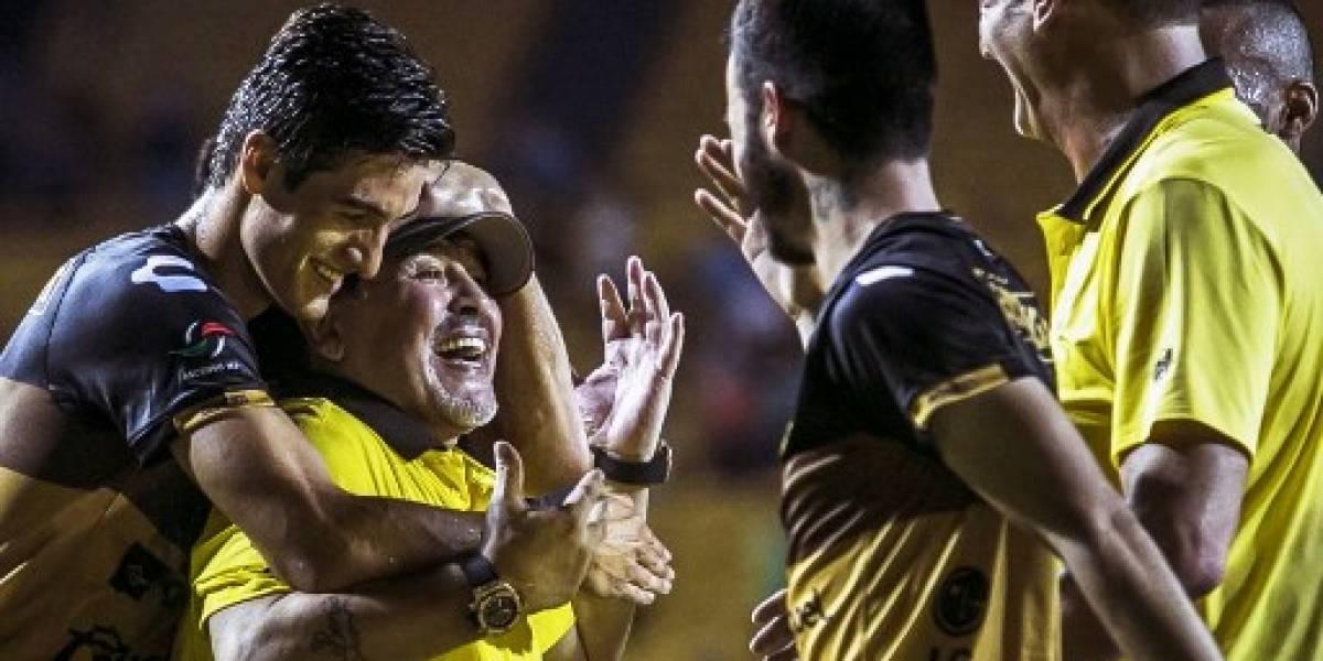 Maradona y Dorados pelearán por un título en México