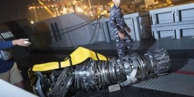 Tragedia de avión siniestrado en Indonesia.