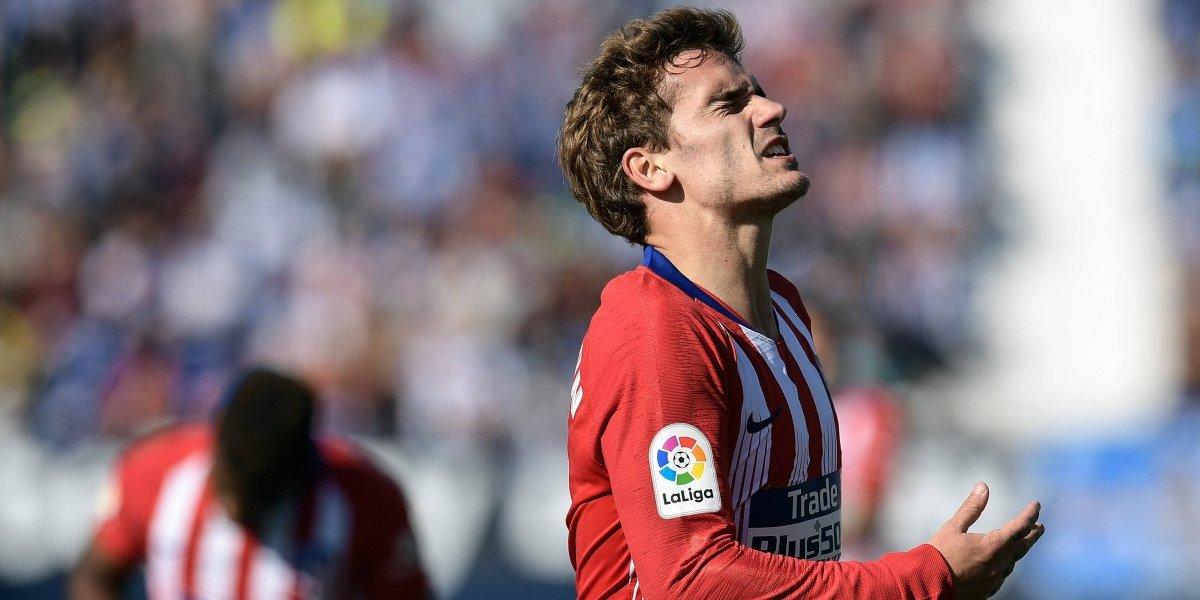 El Atlético vuelve a dejar escapar un triunfo
