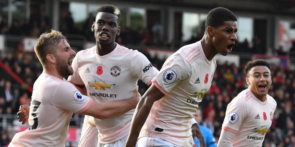 El United logra un triunfo sobre el final del encuentro