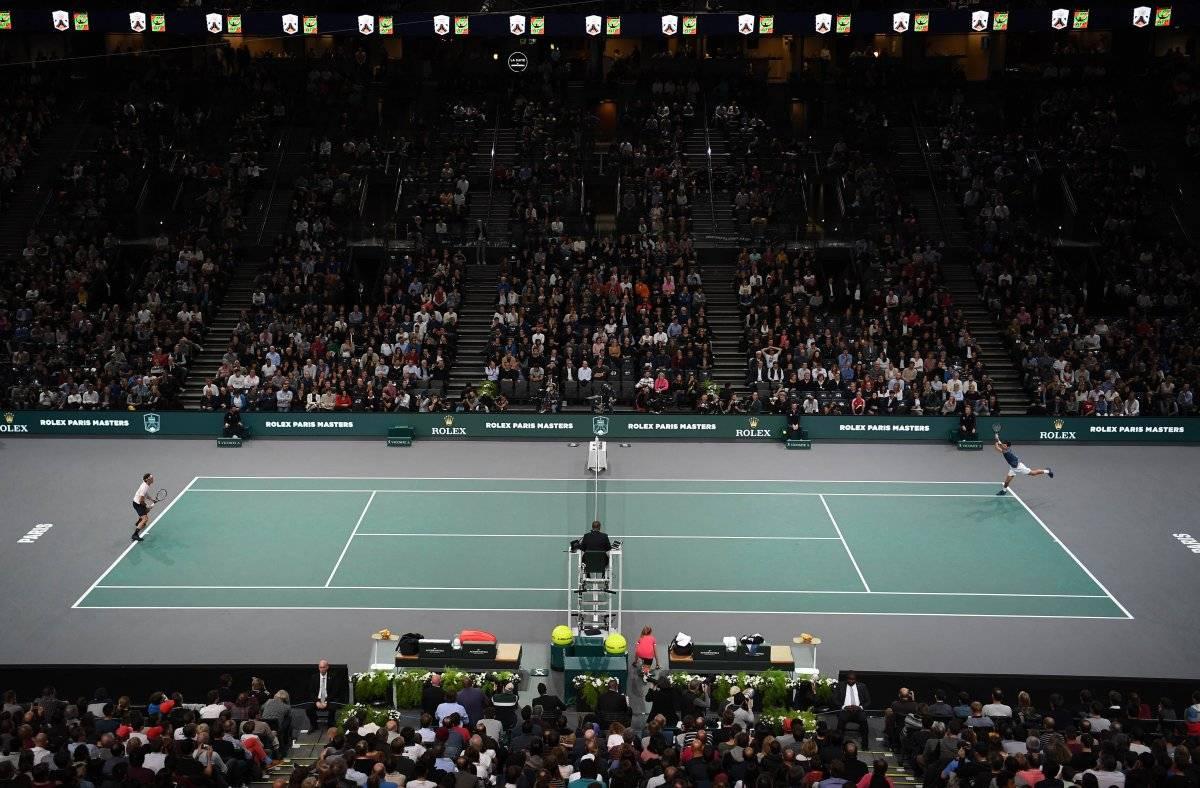 Djokovic y Federer dieron un buen espectáculo