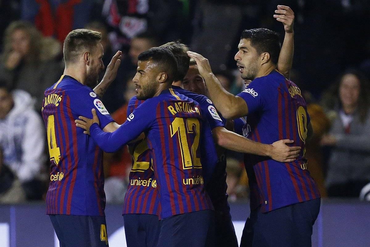 El Barcelona sigue en la cima
