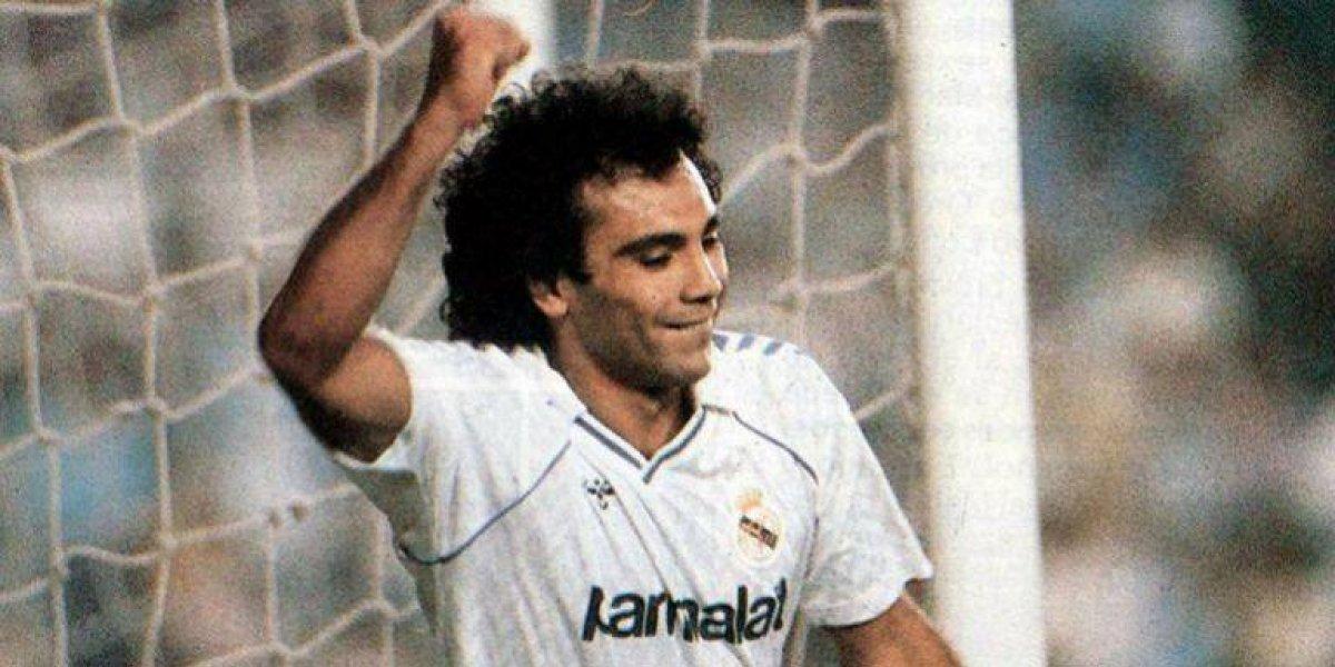 Real Madrid recuerda golazo de chilena de Hugo Sánchez