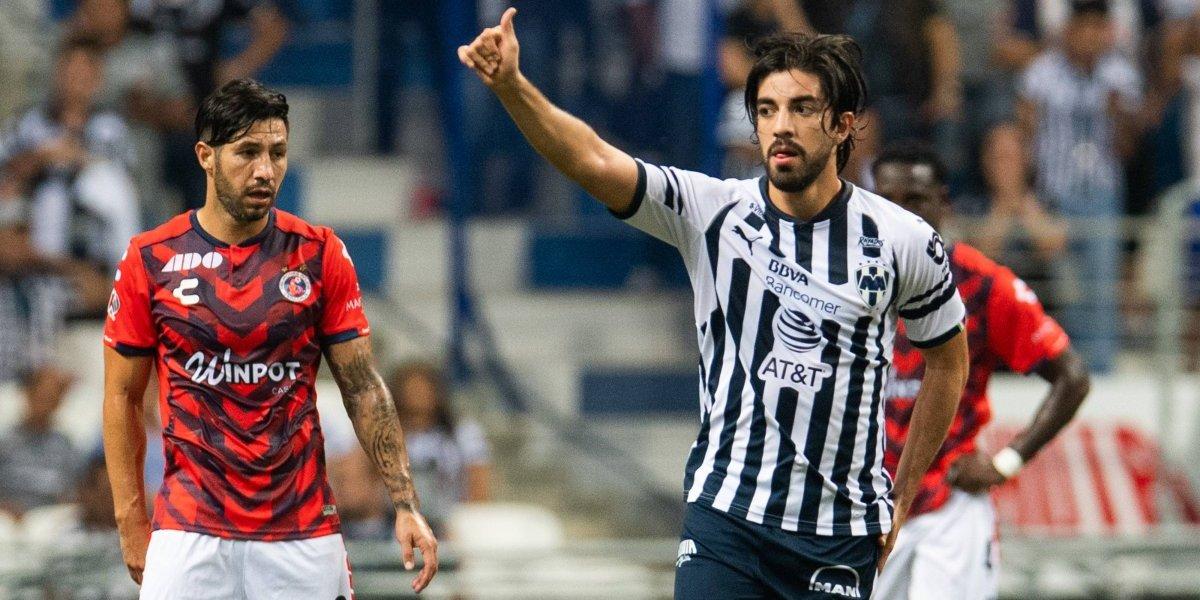 VIDEO: Rodolfo Pizarro marca su primer gol con Rayados