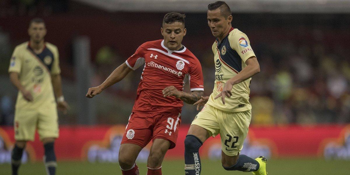 VAR impide derrota del América ante Toluca