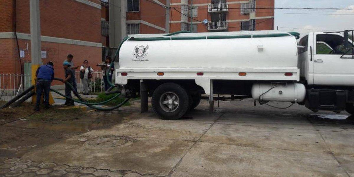 Se han repartido más de 48 millones de litros de agua en la CDMX