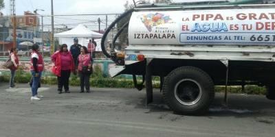 Tercer día sin agua en la CDMX