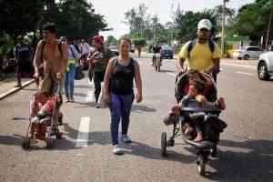 Migrantes Caravana