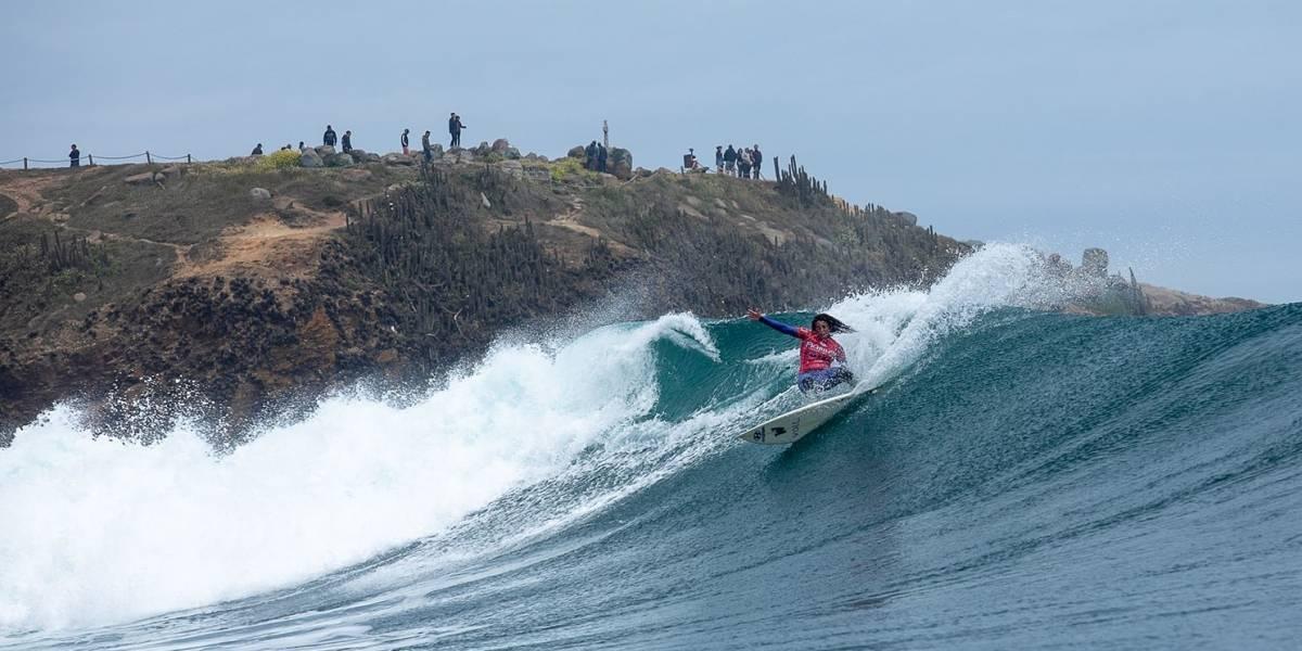 La peruana Analí Gómez ganó el Mundial de surf femenino en Pichilemu