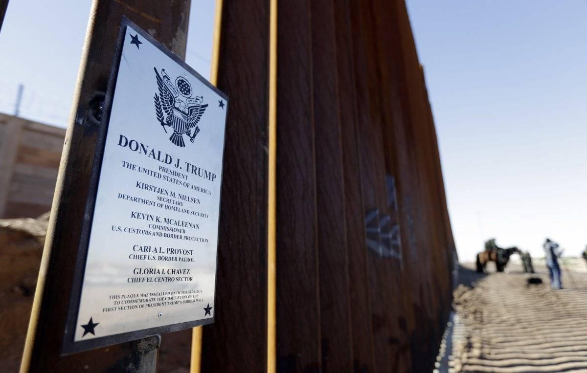 Muro fronterizo Estados Unidos