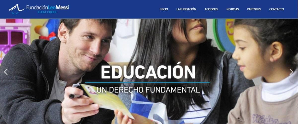 La Fundación de Messi está vista como pantalla para el lavado de dinero