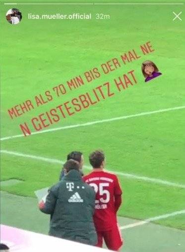 Esposa de Müller sobre Kovac