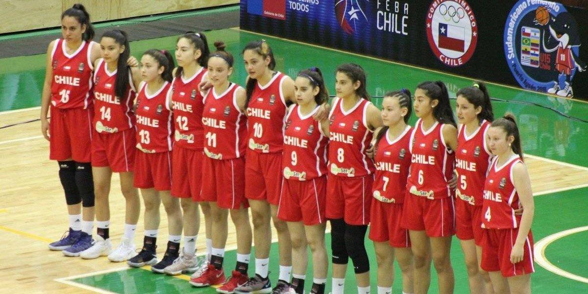 """Sensacional triunfo: Las """"Huasitas"""" del básquetbol Sub 15 se coronaron campeonas sudamericanas"""