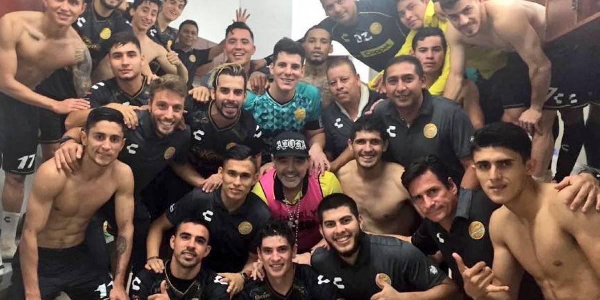 La revolución de Maradona en México no para: Dorados lleva cinco triunfos seguidos y va por el título