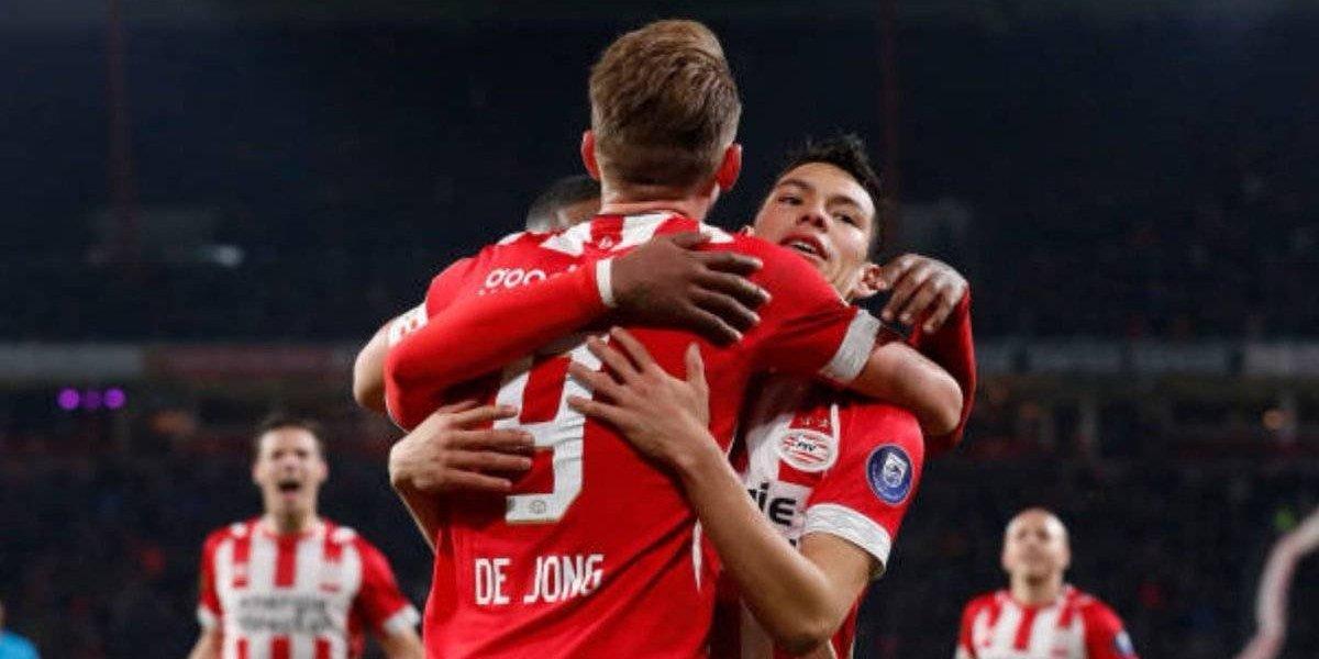 'Chucky' Lozano, pieza fundamental en la victoria del PSV