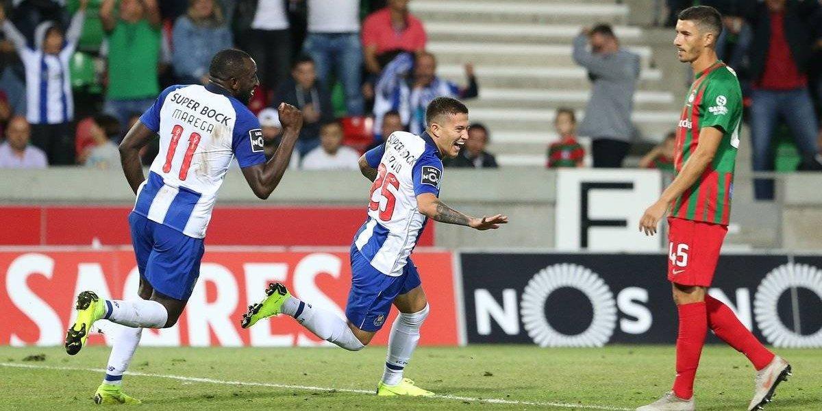 Corona y Herrera participan en el triunfo del Porto