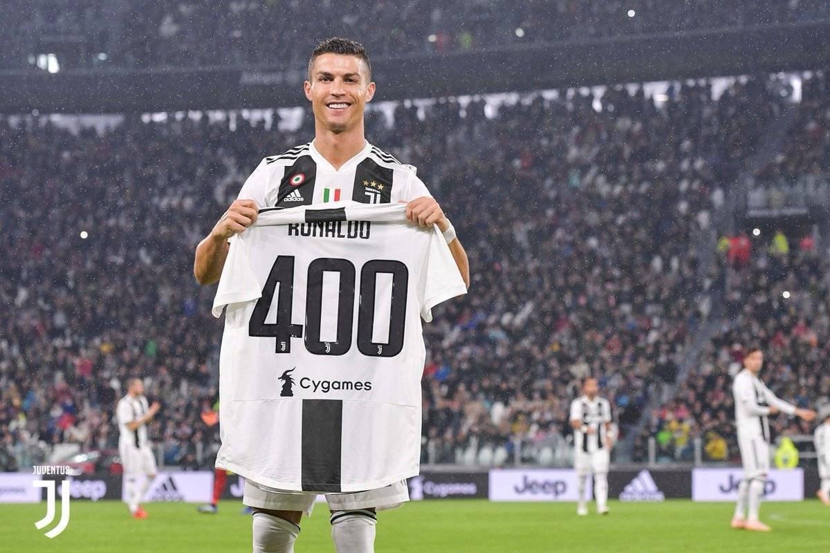 Juve celebra los 400 goles de CR7 en Europa @juventusfc