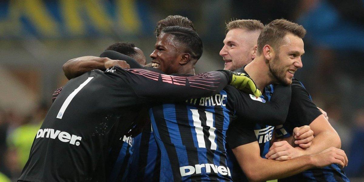 Inter de Milán humilla en casa al Génova