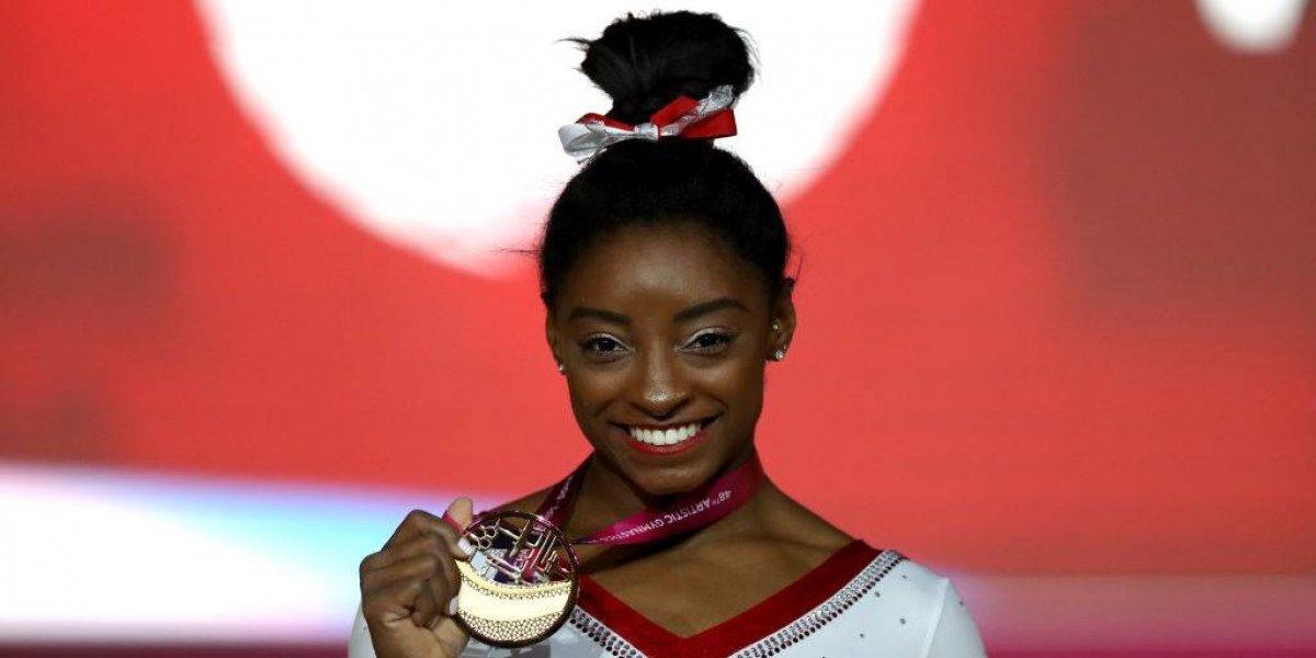 La espectacular Simone Biles dio cátedra en el Mundial de Gimnasia con cuatro medallas de oro