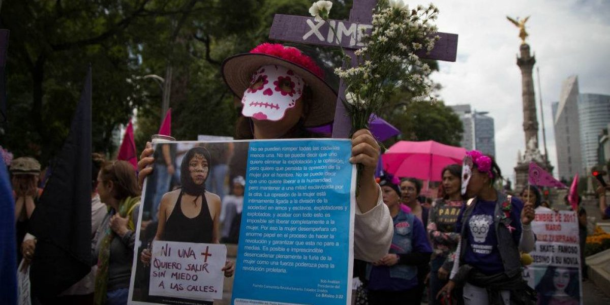 Exigen justicia para mujeres desaparecidas y asesinadas en México
