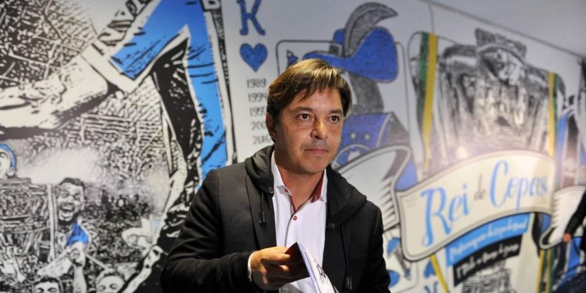 Conmebol no pescó a Gremio, castigó a Gallardo y confirmó final Boca-River en la Libertadores