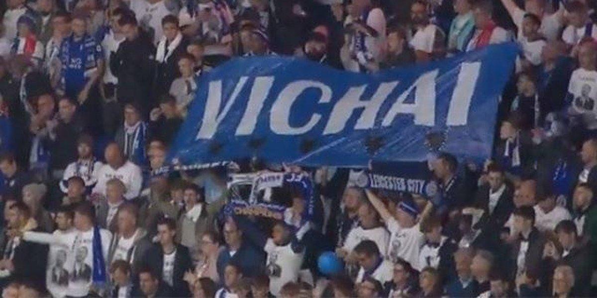 VIDEO. El conmovedor minuto se silencio que hizo el Leicester City