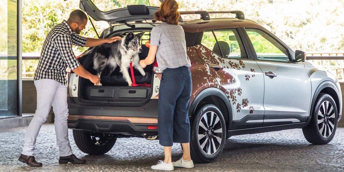 Nissan lanza una versión especial del Kicks para mascotas