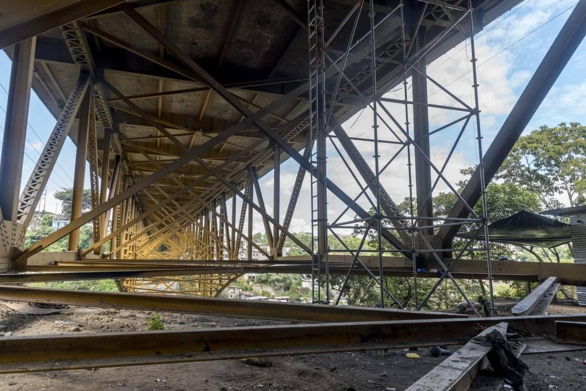 Puente Belice Foto: Conred