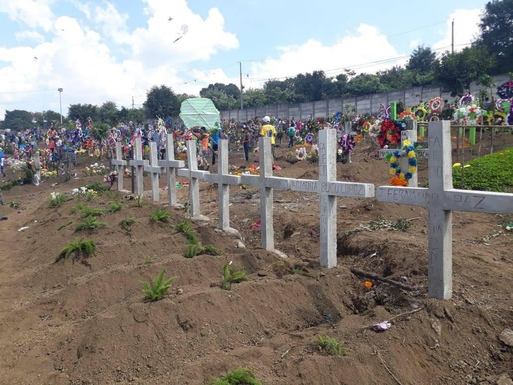 Recuerdan a las víctimas de la erupción del volcán de Fuego