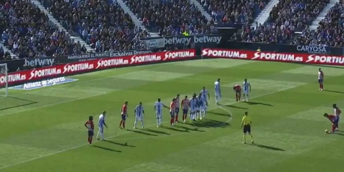 VIDEO: Griezmann da empate al 'Atleti' con golazo