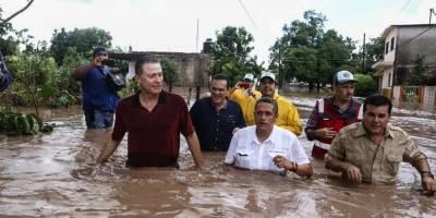 Afectaciones Willa en Sinaloa
