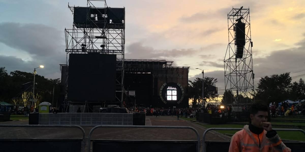Quejas a organización del concierto de Shakira en Bogotá por una pantalla